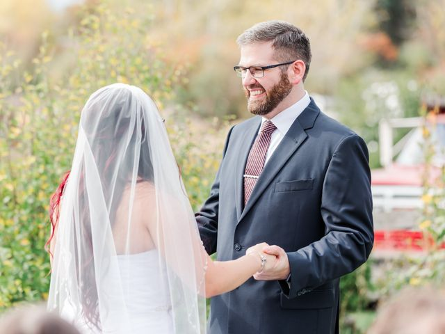 The wedding of William and April