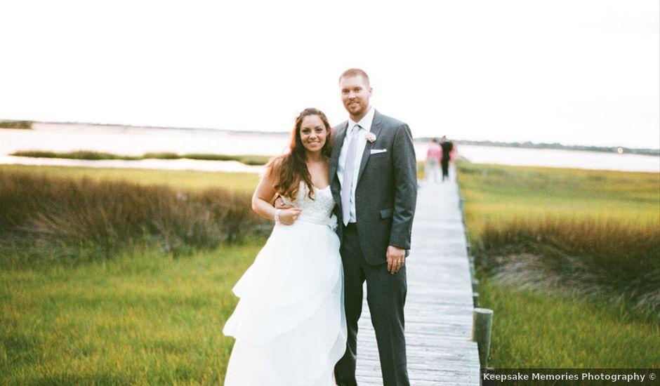 Cara and Grant's Wedding in Emerald Isle, North Carolina
