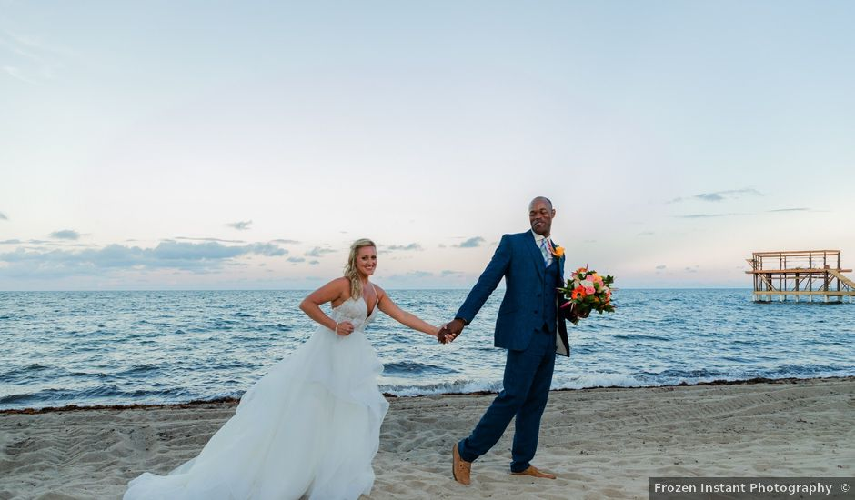 Brittany and Jamaal's Wedding in Hopkins, Belize
