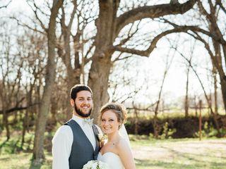The wedding of Josh and Mikayla