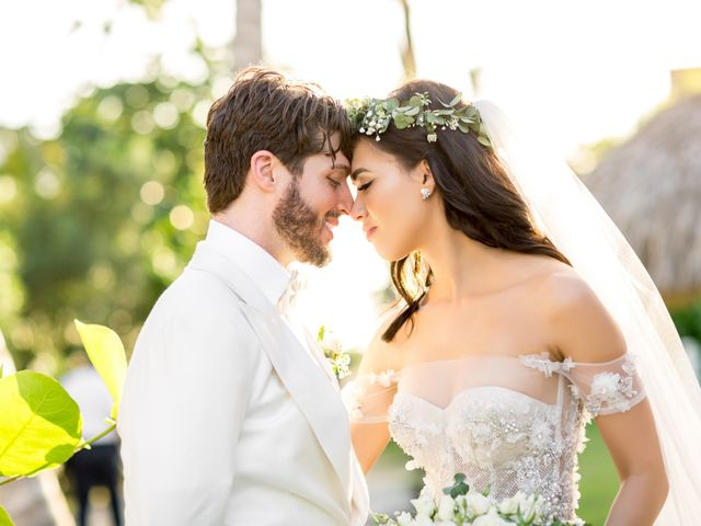 The wedding of Adel and Brock
