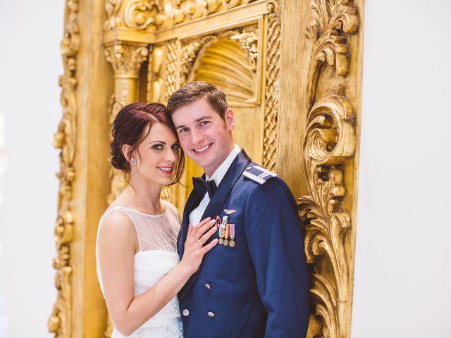 The wedding of David and Kristin