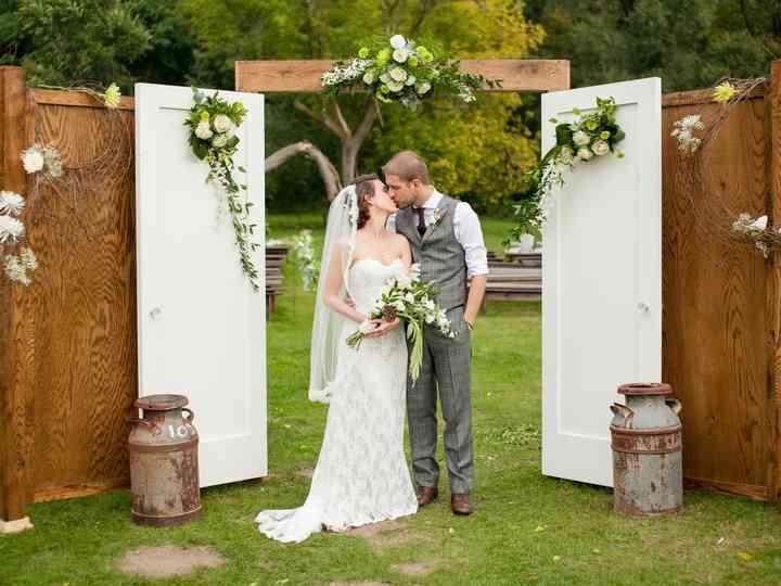 The wedding of Samantha and Kory