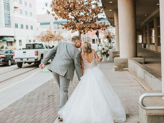 The wedding of Brianna and Demetrik