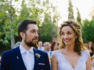 The wedding of Panagiotis and Fyllenia