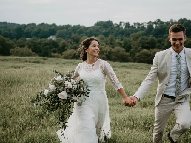 The wedding of Zach and Anna