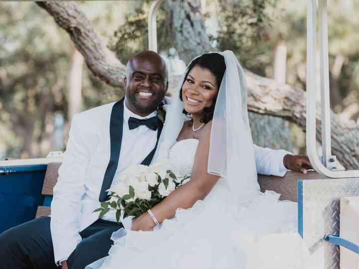 The wedding of Erik and Tashira