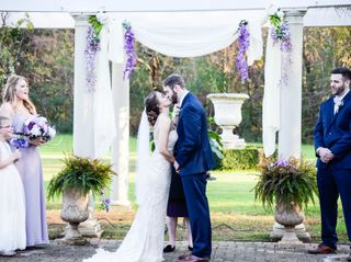 The wedding of Chase and Autumn 2