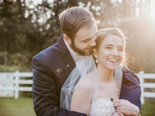 The wedding of Chase and Autumn