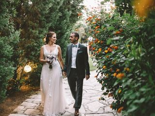 The wedding of Aggelos and Katerina