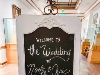 The wedding of Noelle and Chris 1