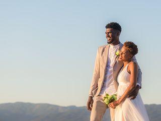 The wedding of Tameka and Romaine
