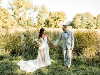 The wedding of Alexa and Jordan