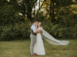 The wedding of Kirstin and Joe