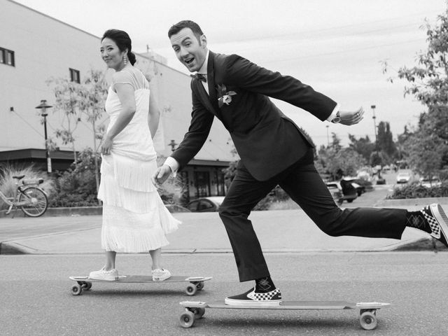 Chase and Nancy's Wedding in Seattle, Washington 1