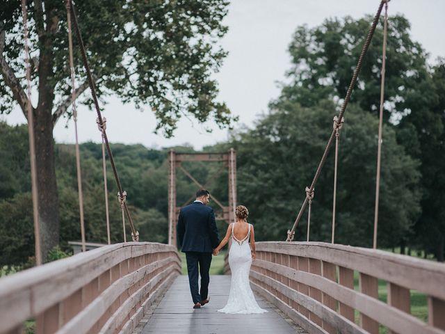 Evan Wyler and Crystal Wyler's Wedding in Middletown, New York 1