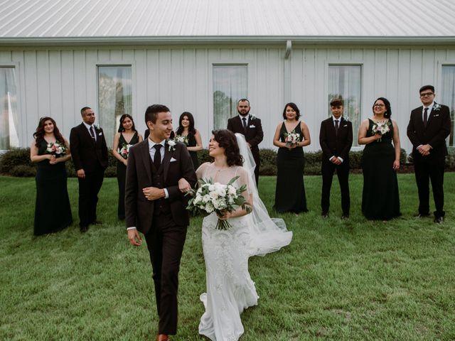 Jesse and Karen's Wedding in Montgomery, Texas 48