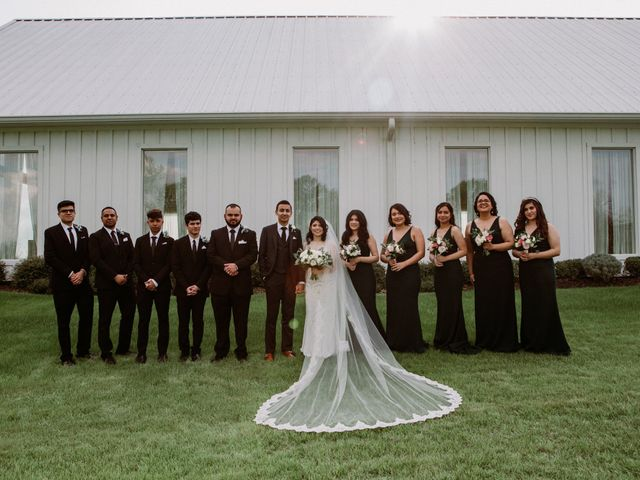 Jesse and Karen's Wedding in Montgomery, Texas 51