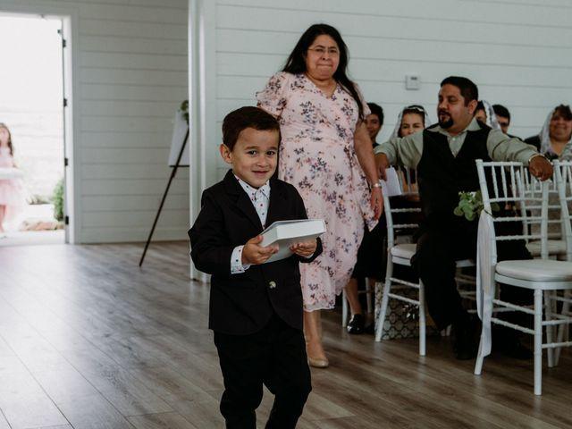 Jesse and Karen's Wedding in Montgomery, Texas 79