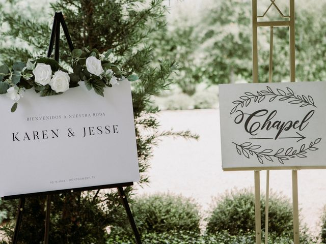 Jesse and Karen's Wedding in Montgomery, Texas 89