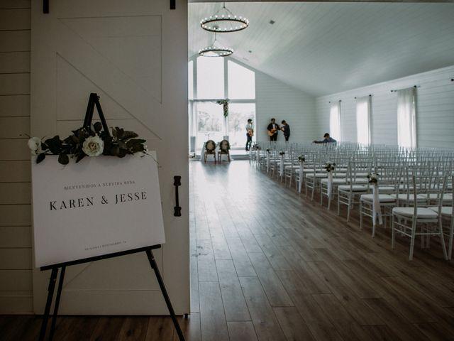 Jesse and Karen's Wedding in Montgomery, Texas 92