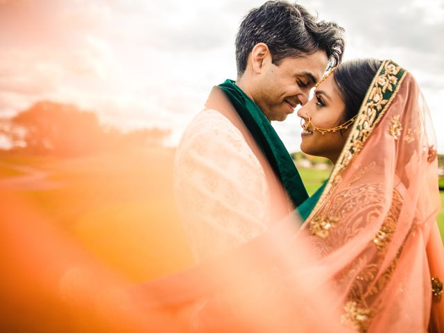 The wedding of Minti and Madhav