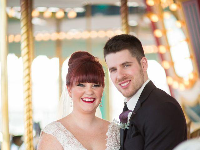 The wedding of David and Sarah