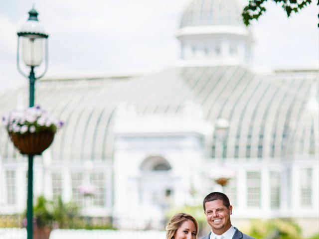 The wedding of Brad and Lindsay