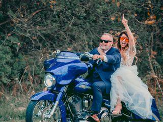 The wedding of Allison and David
