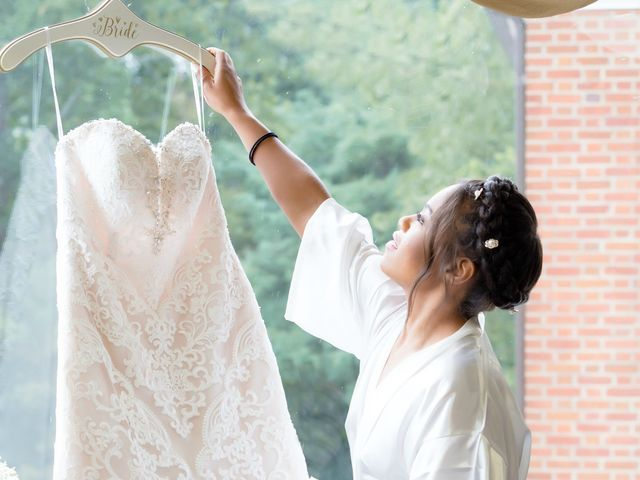 Whitney and Nic's Wedding in Fort Belvoir, Virginia 10