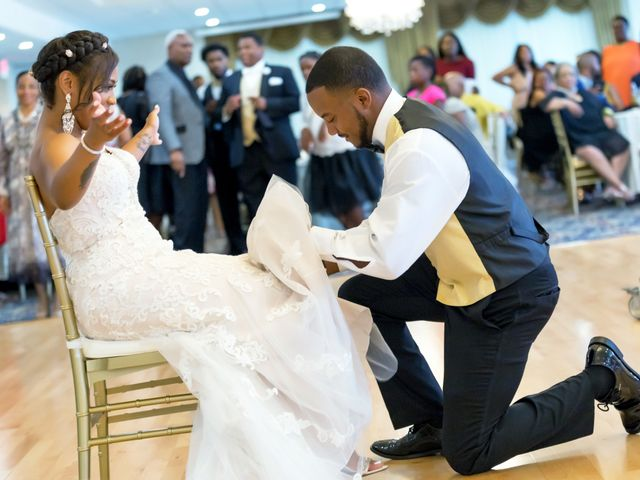 Whitney and Nic's Wedding in Fort Belvoir, Virginia 33