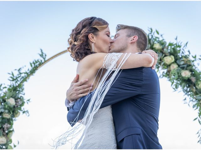 The wedding of Lindsay and Clint