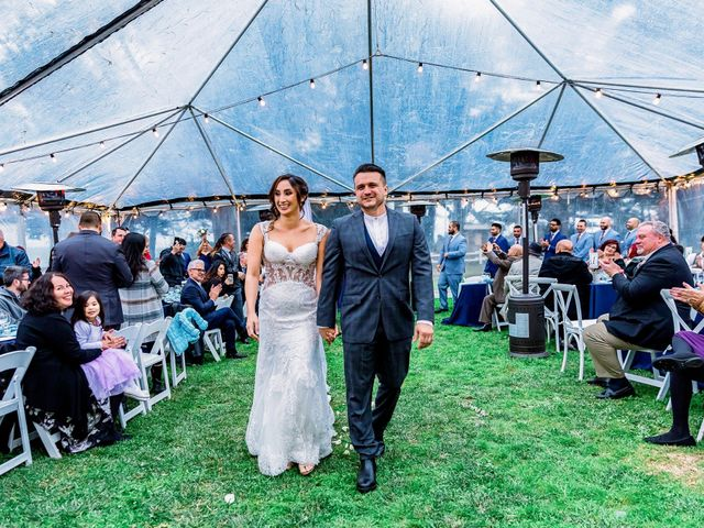 Steve and Samantha's Wedding in Cambria, California 9