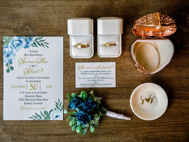 Steve and Samantha's Wedding in Cambria, California 29