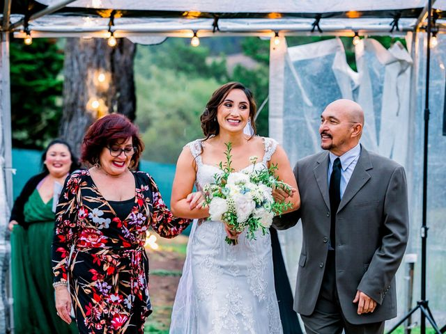 Steve and Samantha's Wedding in Cambria, California 50