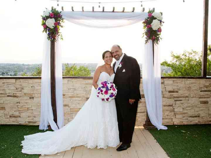 The wedding of Stacie and Carlos