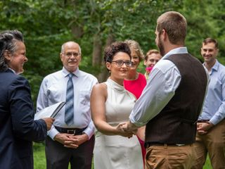 The wedding of Rosalie and Sam 1