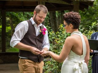 The wedding of Rosalie and Sam 2