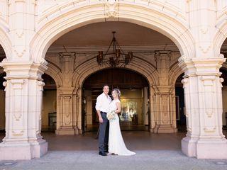 The wedding of Tatiana and Eugene