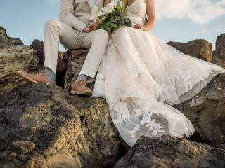 The wedding of Caroline and Michael 1