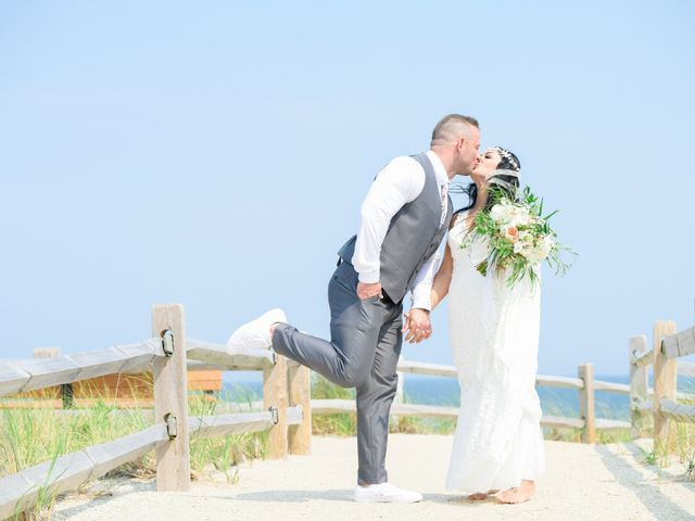 John and Lisa's Wedding in Beach Haven, New Jersey 123