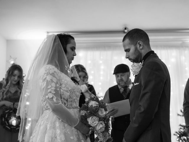 Michael and Monique's Wedding in Sumner, Washington 28