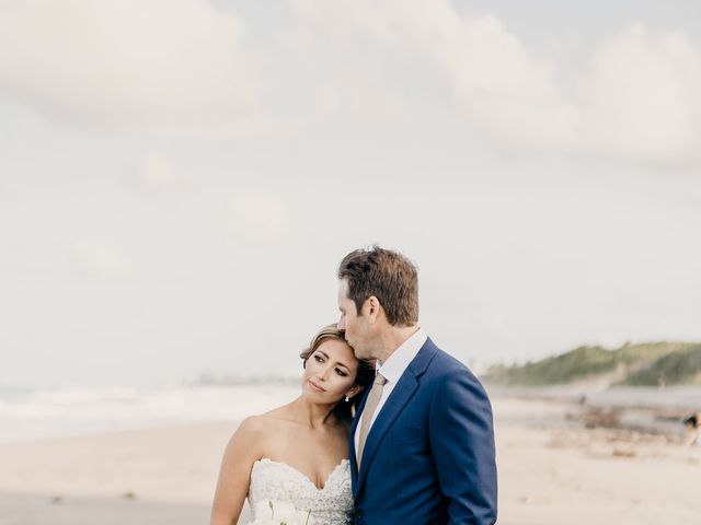 Adam and Lindsay's Wedding in Jupiter, Florida 15