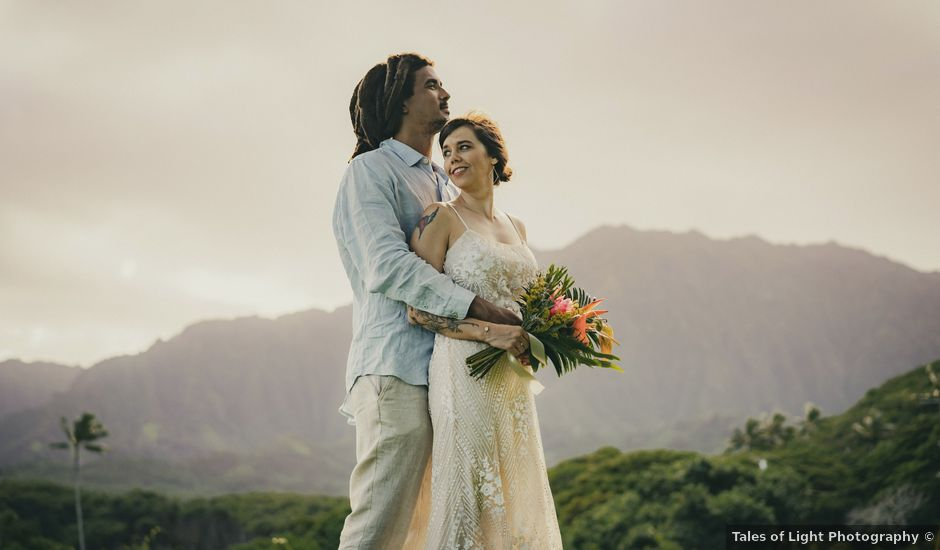Jack and Anna's Wedding in Kaneohe, Hawaii