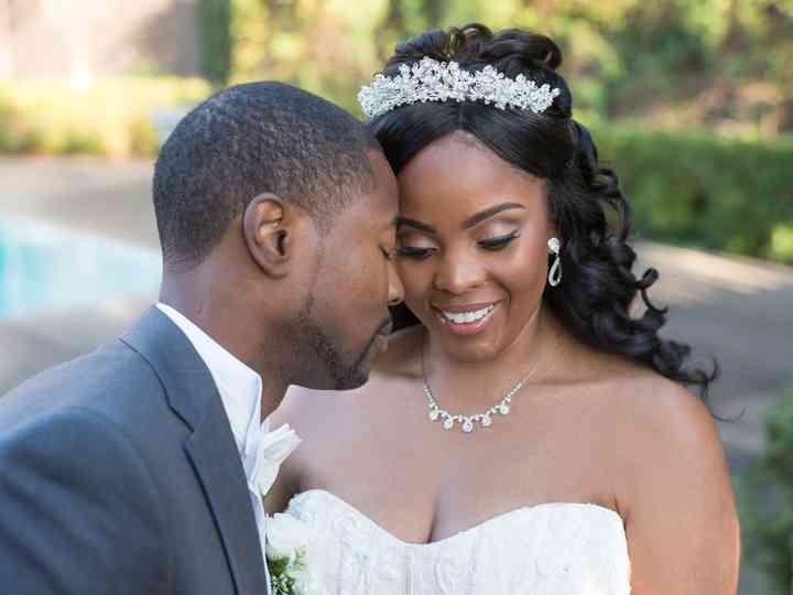 The wedding of Antoine and LaTonya
