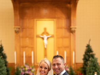 The wedding of Jessica and Michael 1