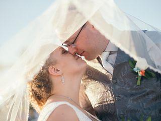 The wedding of Erin and Erik