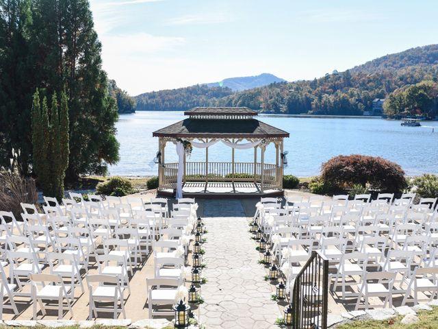 Jason and Ashley's Wedding in Lake Lure, North Carolina 8
