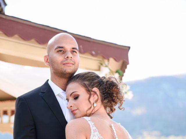 Jason and Ashley's Wedding in Lake Lure, North Carolina 3