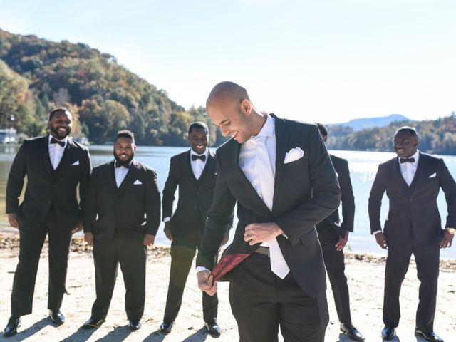 Jason and Ashley's Wedding in Lake Lure, North Carolina 9